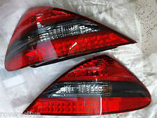 Mercedes-Benz OEM R230 SL Class AMG 2003-2012 Smoked Tinted LED Taillight Pair