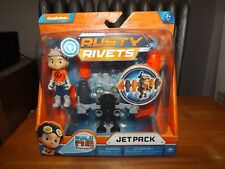 RUSTY RIVETS, JET PACK, EASY BUILD, NEW IN PACKAGE, SPIN MASTER