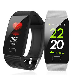 Q1 Smart Watch Fitness Tracker Sport Watch For iOS Android 2020 New Waterproof