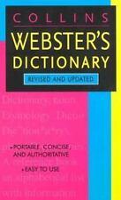 Collins Webster's Dictionary (Collins Language) - Acceptable - HarperCollins Pub