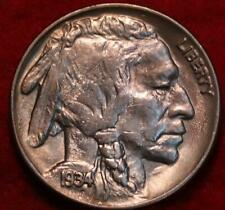 Uncirculated 1934 Philadelphia Mint  Buffalo Nickel
