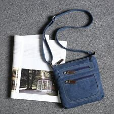 Women Denim Jeans Satchel Handbag Shoulder Tote Messenger Cross-body Bag 2019