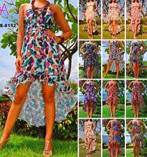 Plus Size Floral Casual Maxi Dresses for Women
