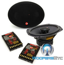 "CDT AUDIO ES-069ICFX 6"" x 9"" CAR AUDIOPHILE COMPONENT SPEAKERS CROSSOVERS NEW"