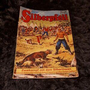 SILBERPFEIL #71 Zweikampf mit dem Silberlöwen, Bastei 1973 + Ferrero Werbe-Comic