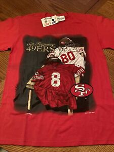 1995 Nutmeg Mills San Francisco 49ers T Shirt Size Medium
