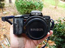Minolta 7000 Maxxum Film Camera 35mm with Minolta AF 35-70 Macro Lens