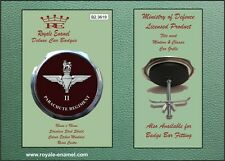 Royale Military Car Grill Badge - 2ND BATTALION THE PARACHUTE REGIMENT - B2.3619