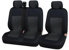 2+1 Schwarz LUXUS Sitzbezüge Schonbezüge Hochwertig für Mercedes Benz Opel VW