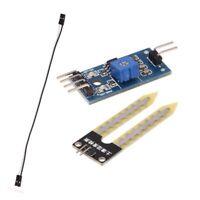 5X(Soil Hygrometer Detection Moisture Wasser Sensor Module fuer Arduino+ Pr Z3K6