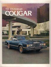 Mercury Cougar 1979 USA Market Sales Brochure Brougham XR-7