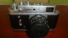 Russian Zorki-4 RF film camera, Industar 50 lens. Excellent Condition №69953466
