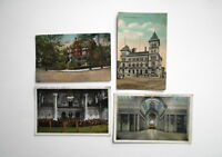LOT OF 4 ALBANY  NY NEW YORK  ANTIQUE   POSTCARDS