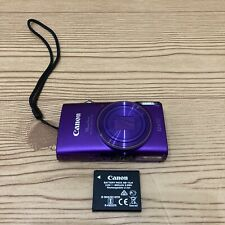 Canon Powershot Elph 360 HS Digital Camera, Purple WiFi  - Camera Only