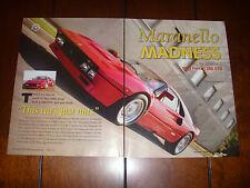 1985 FERRARI 288 GTO - ORIGINAL 2007 ARTICLE