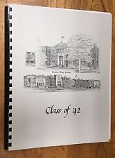 "Louisiana, Ruston High School, Class 1942, ""Year Book that Never Was"""