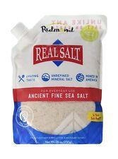 Redmond Real Salt Ancient Fine Sea Salt Unrefined Mineral Salt ... Free Shipping