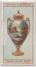 Fieldings Crown Devon Pottery Ceramic Ware 1920s Trade Ad Card