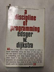 A Discipline of Programming by Edsger W. Dijkstra. Hardcover