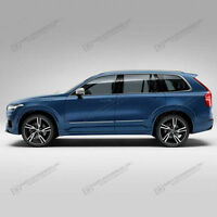 PAINTED BODY SIDE Moldings With CHROME TRIM Insert For: VOLVO XC90 2015-2020
