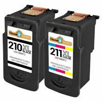 Replacement for PG210XL CL211XL Ink Cartridge for Canon PIXMA MP240 MP250 MP270