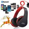 Bluedio Foldable Wireless Bluetooth Stereo Headset Headphones Handsfree +Mic