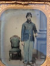 Civil War Colorized Tintype. Hired to Sell Collection Of Mostly Ww1 Wwii Ww2