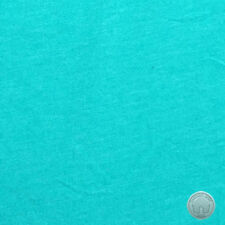 T Knit Polyester Poly Spandex Jade Heather Solid Fabric by the Yard
