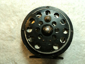 Vtg Pflueger Sal Trout Fly Fishing Reel 1554 Skeleton Style Works Made In USA #2