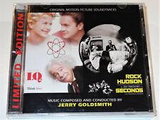 Jerry Goldsmith I. Q. and SECONDS Two Soundtrack La-La Land CD New & Sealed