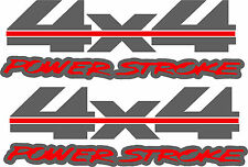 POWERSTROKE 4X4 TRUCK TRUCKBOX DECAL KIT