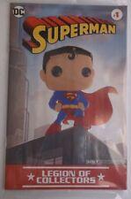 SUPERMAN # 1 LEGION OF COLLECTORS FUNKO COMIC BOOK VARIANT NEW SEALED NM MINT