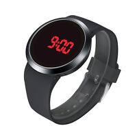 Mens Watches LED Watch Sports Watch Waterproof Digital Wrist Watch Touch Screen