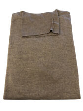 Brand New John Smedley Cherwell Polo Neck Jumper In Soft Fawn Size L