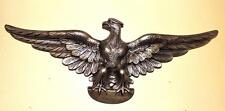 GOLD CHALKWARE OPEN-WINGED BALD EAGLE WALL PLAQUE (Refinished) - NEW