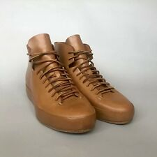 Feit Handsewn High Tan Natural Leather Sneaker  Size 12 US / 45 EU Limited