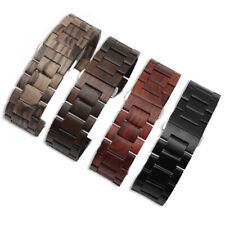 Solid  Wood Replacement Watch Band Strap For Samsung Galaxy Watch 22mm  20mm