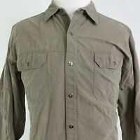 KUHL MOUNTAIN GROWN LONG SLEEVE HIKING SNAP BUTTON DOWN SHIRT MENS SIZE XL