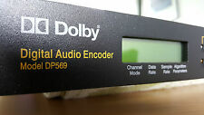 DOLBY DP569 DIGITAL AUDIO 5.1Encoder AC3 DVD Blu-Ray Authoring DTV