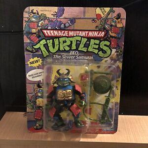 Teenage Mutant Ninja Turtles Tmnt Playmates Leo The Sewer Samurai MOC Unpunched