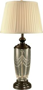 DALE TIFFANY TABLE LAMP TRADITIONAL ANTIQUE 1-LIGHT OIL-RUBBED BRONZE CR