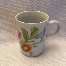 Monticello Taste Seller Sigman Floral China Coffe Cup MUG  Made in Japan