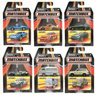 Matchbox 1/64, Choose your own (BMW, Range Rover, Porsche...) collectable models