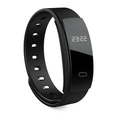 Heart Rate Monitor Fitness Smart Watch Bracelet Wrist Band for Samsung Galaxy S8 Black