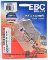 MXS Series Race Sintered Front Brake Pads EBC MXS185