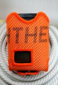 Meldertasche/Gürteltasche Swissphone Quattro aus Feuerwehrschlauch orange