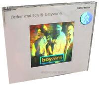 BOYZONE CD Father And Son 1995 IRISH Debut single in HOLGRAM Sleeve 4 Track LTD