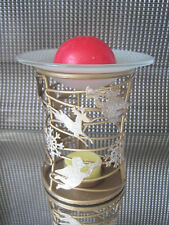 Partylite Duftlampe **FROHES FEST** ++NEU/OVP++ u. 1 Aromahalbkugel + 1 Teelicht