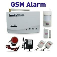 KIT ALLARME GSM ANTIFURTO WIRELESS GSM CASA SENZA FILI CON COMBINATORE GSM