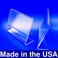 6x4 Acrylic Slanted Photo Booth Frames, Made in USA
